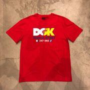 """Camiseta dgk """"Ice breaker"""" Vermelha"""