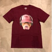 "Camiseta dgk ""Red Nose"" Bordô"