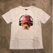 """Camiseta dgk """"Red Nose"""" Branca"""
