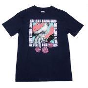 """Camiseta DGK """"Rollin"""" Azul"""