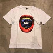 "Camiseta dgk ""Sounds"" Branca"
