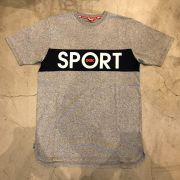 "Camiseta DGK ""Sport SS Knit"" Cinza"