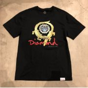 """Camiseta Diamond """"Alligator"""" Preta"""