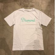 "Camiseta Diamond ""Champagne sign"" Branca"