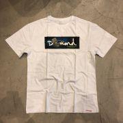 "Camiseta Diamond ""Citrine Box"" Branca"