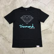 "Camiseta Diamond ""OG Sign"" Preta"