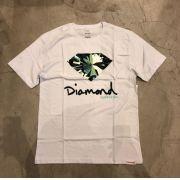 """Camiseta Diamond """"Simplicity Sign"""" Branca"""
