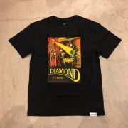 """Camiseta Diamond """"Winners Die"""" Preta"""