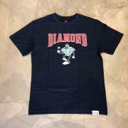 "Camiseta Diamond ""Team Mascot"" Azul Marinho"