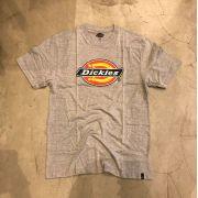 Camiseta Dickies Logo Cinza