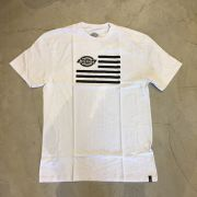 "Camiseta Dickies ""Logo Flag"" Branca"