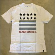 "Camiseta Dickies ""Stars"" Branca"