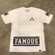 "Camiseta Famous ""Nothing 2 Lose"" Branca"