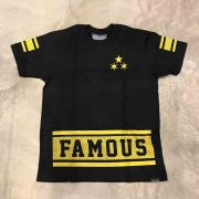 "Camiseta Famous ""Nothing 2 Lose"" Preta"