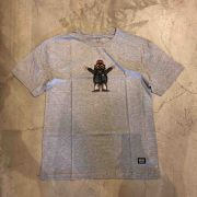 """Camiseta Grizzly """"Carnivore"""" Cinza"""