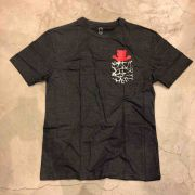 """Camiseta Grizzly """"Cement Pocket"""" Cinza"""
