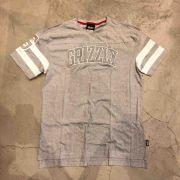 "Camiseta Grizzly ""Fifty Yard Line Knit SS"" Cinza"