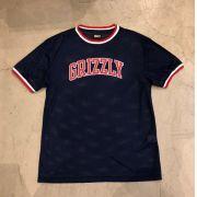 "Camiseta Grizzly ""Frazier Basketball"" Azul"