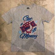 "Camiseta DGK ""Get Money"" Cinza"