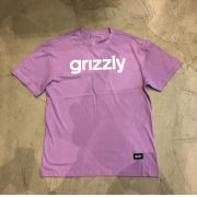 "Camiseta Grizzly ""Lowercase"" Roxa"