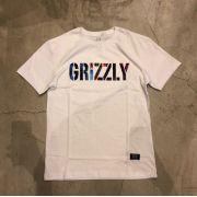 "Camiseta Grizzly ""Nice Trip"" Branca"