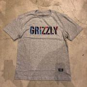 "Camiseta Grizzly ""Nice Trip"" Cinza"
