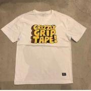 "Camiseta Grizzly ""Nostalgic"" Branca"