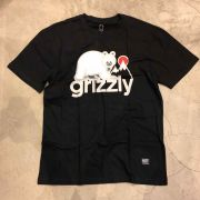 "Camiseta Grizzly ""Polar Bear"" Preta"