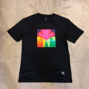"Camiseta Grizzly ""Prism"" Preta"
