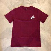 "Camiseta Grizzly ""Rise n Grind"" Bordô"
