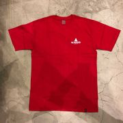 "Camiseta HUF ""PEAK"" Vermelha"