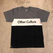 "Camiseta Other Culture "" Embedded "" Cinza/Preto"