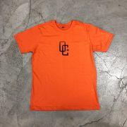"""Camiseta Overcome """"OC"""" Laranja"""