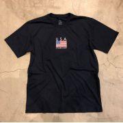 "Camiseta Overcome ""USA"" Azul Marinho"