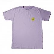 """Camiseta Overcome """"Happy"""" Lilás"""