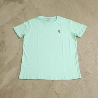 "Camiseta Overcome ""OC Logo Bordado"" Tiffany"