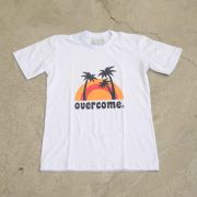 "Camiseta Overcome ""Paradise"" Branca (Juvenil)"