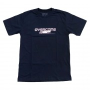 "Camiseta Overcome ""Racing"" Azul Marinho"