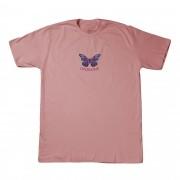"Camiseta Overcome ""Silent Beauty"" Rosa"