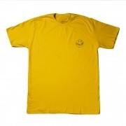 "Camiseta Overcome ""Smile for Haters"" Amarela"