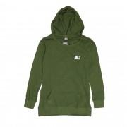 """Camiseta Starter Feminina Canguru """"Script Logo"""" Verde"""