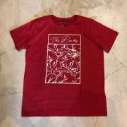 "Camiseta The Rocks ""Abstract"" Vermelha"