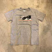 "Camiseta The Rocks ""Biting Man"" Cinza"
