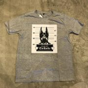 "Camiseta The Rocks ""Dog Closed"" Cinza"
