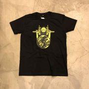 "Camiseta The Rocks ""F*ck World"" Preta"