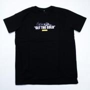 "Camiseta The Rocks ""GET THE GOLD"" PRETA"