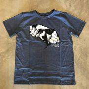 "Camiseta The Rocks ""Leaving The Stone 2"" Azul"