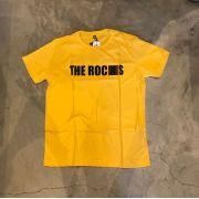 "Camiseta The Rocks ""Logo Breanking"" Amarela"