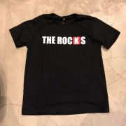 """Camiseta The Rocks """"Logo Breanking"""" Preta"""