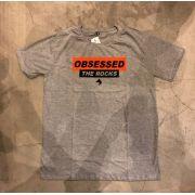 "Camiseta The Rocks ""OBSESSED"" CINZA"